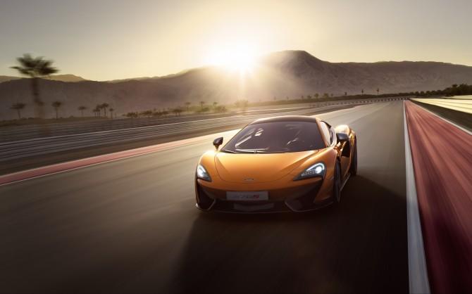McLaren 570S Unveiled