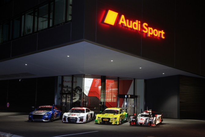 Audi Sport: Green Light for 2015 Season