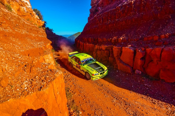 Five BMWs Competing at SandBlast Rally!