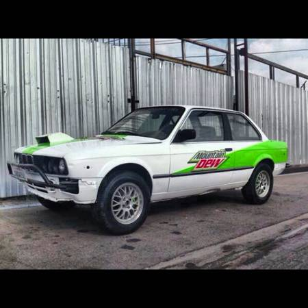 "For Sale: E30 Turbo ""Rally"" Car"