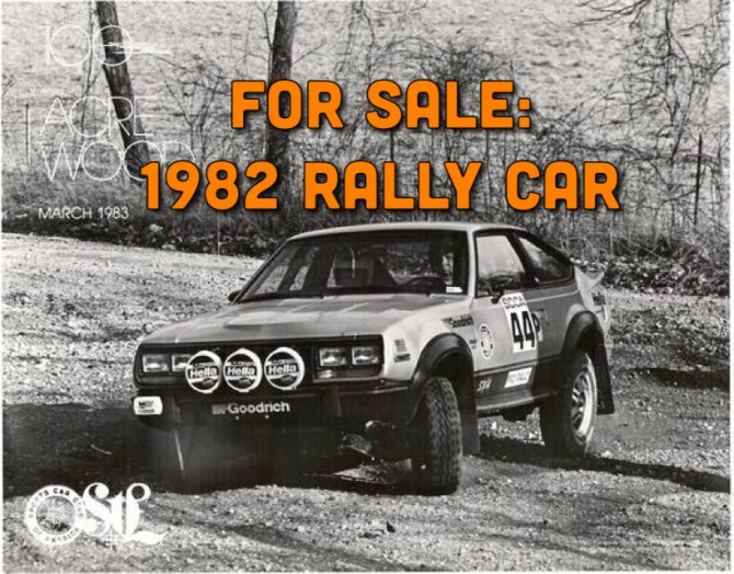 For Sale: 1982 Eagle Rally Car