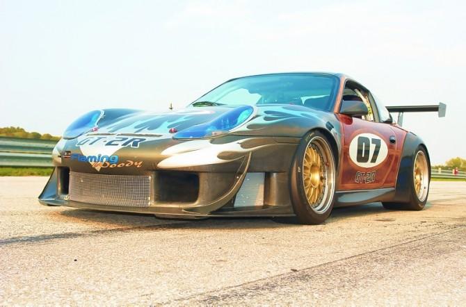 Kelly Moss Factory GT3 RSR Racecar