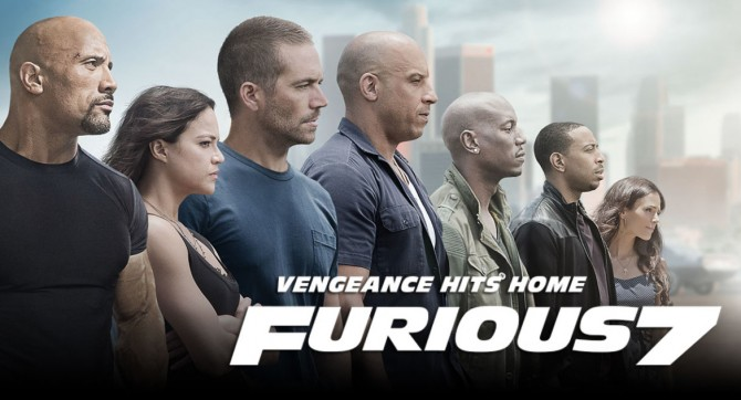 The Sloppy and the Furious: A Furious 7 Movie Review