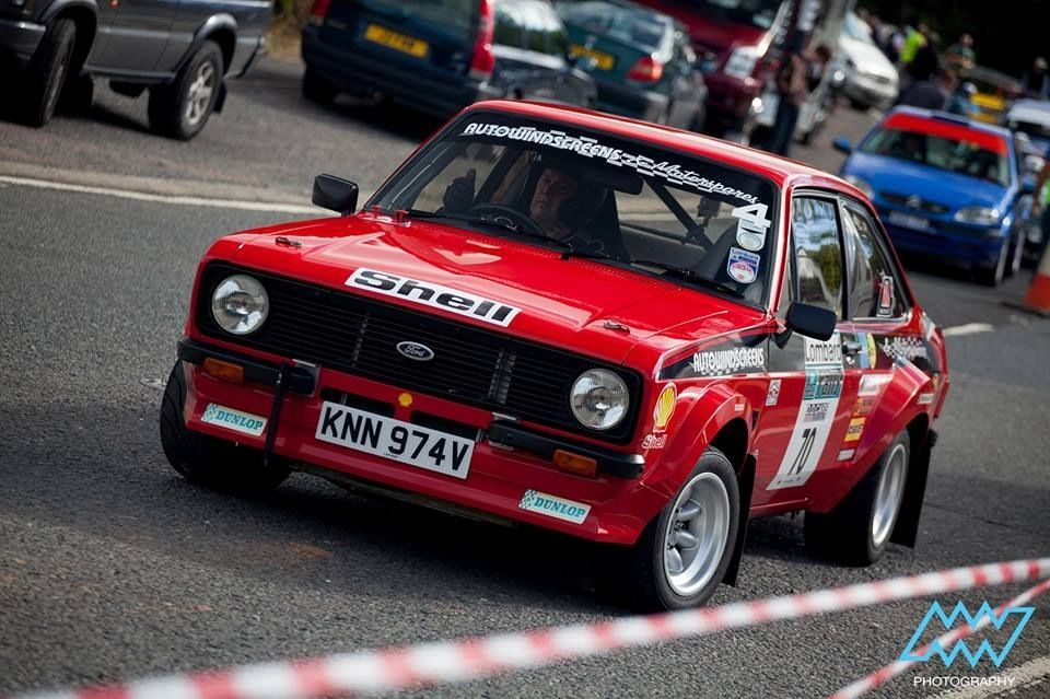 Escort rally car for sale