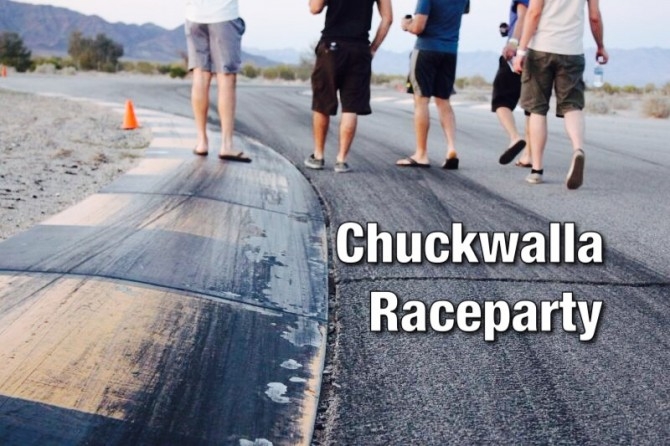 Chuckwalla Raceparty