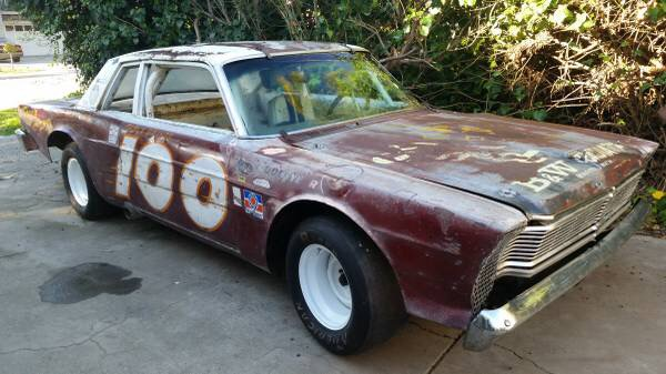 For Sale Vintage Nascar 66 Galaxie Build Race Party