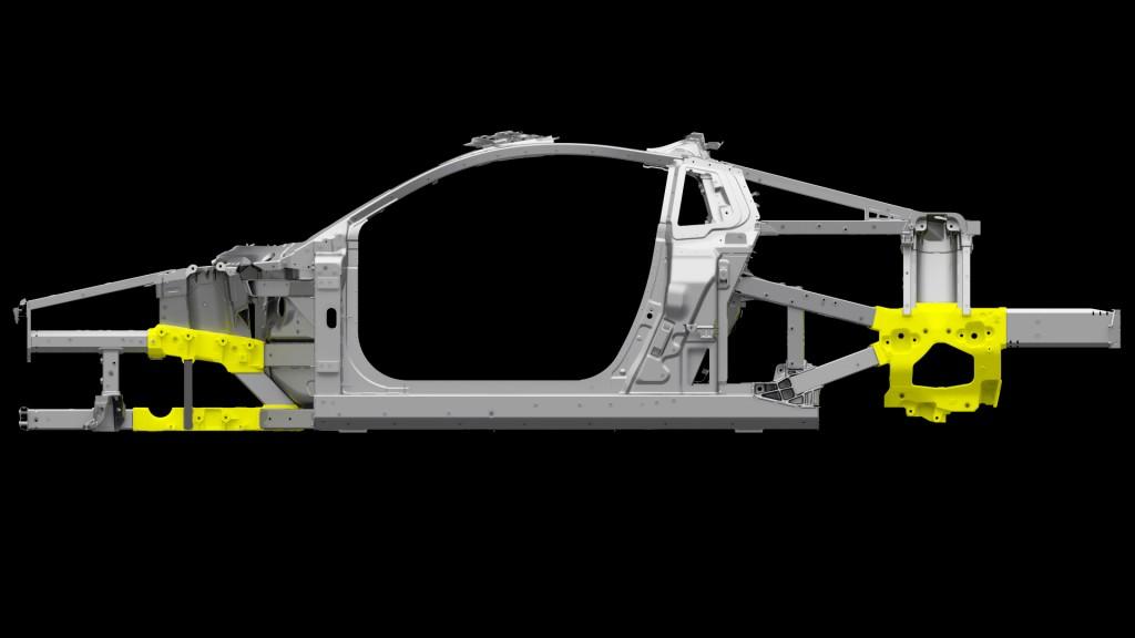 NSX Ablation Casting Space Frame Nodes