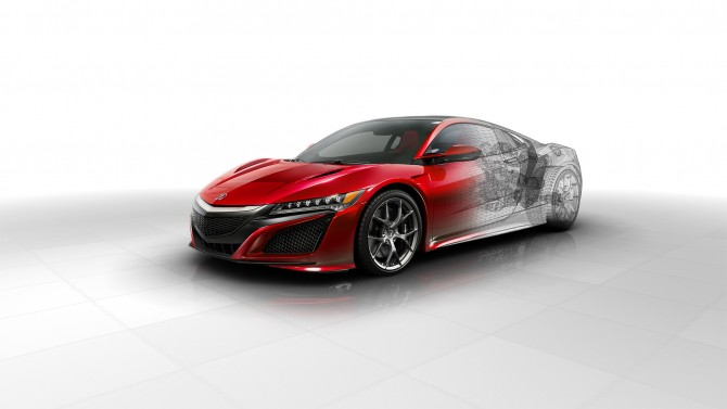 NEW TECHNICAL DETAILS OF THE NEXT GENERATION ACURA NSX REVEALED
