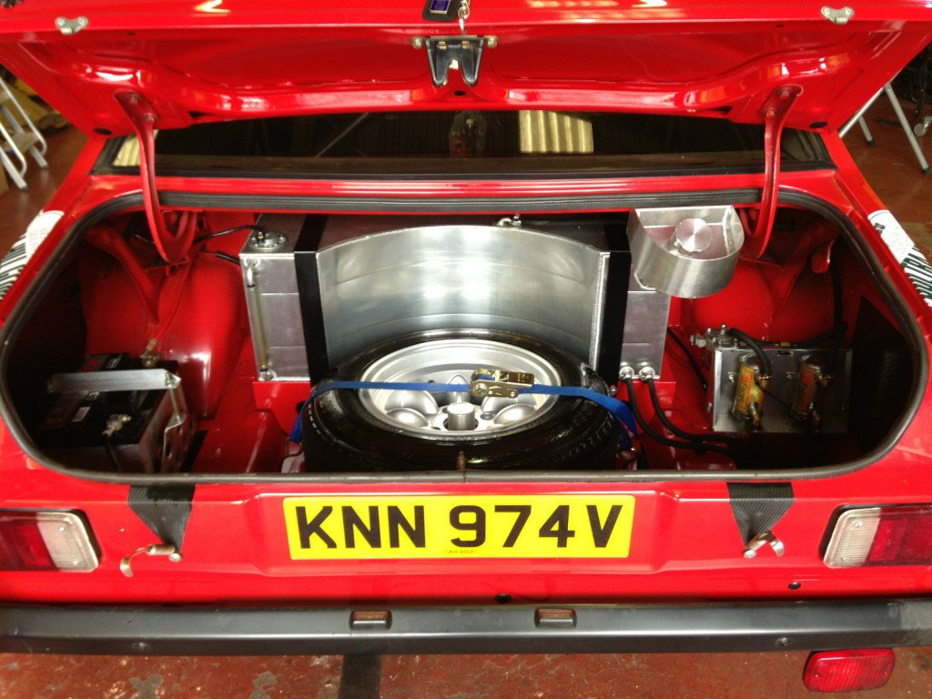 Rally Escort trunk