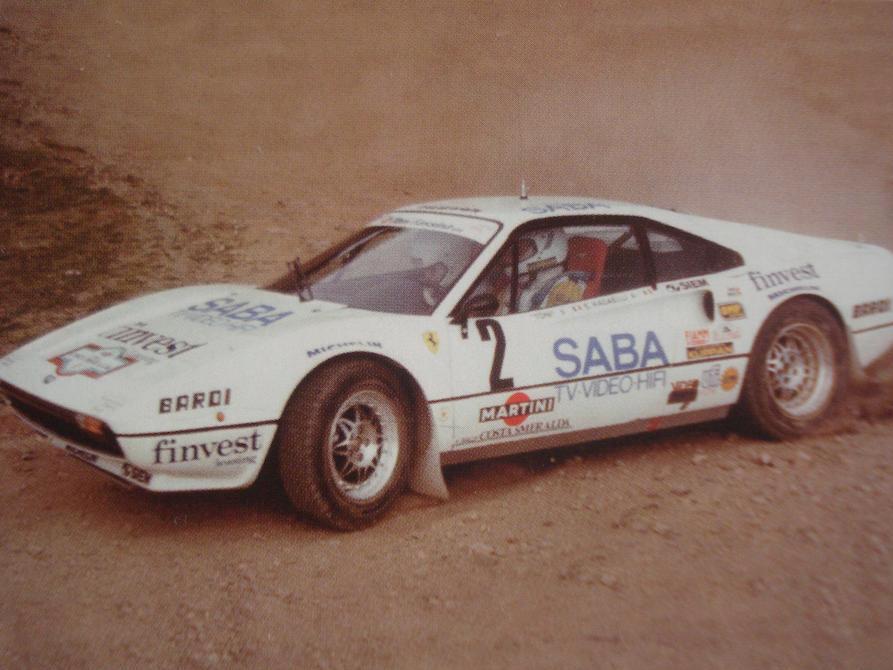 Ferrari Group B for sale gravel sideways