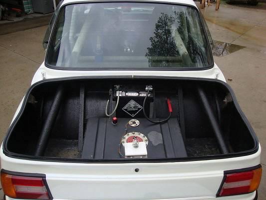BMW 2002 pro street 2002 gas tank