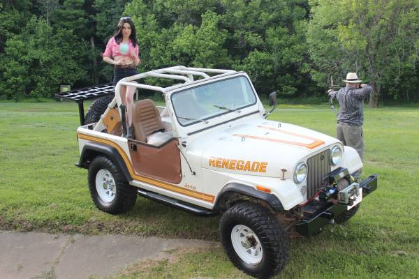 This Jeep CJ-7 on Craigslist is WTF? AWESOME