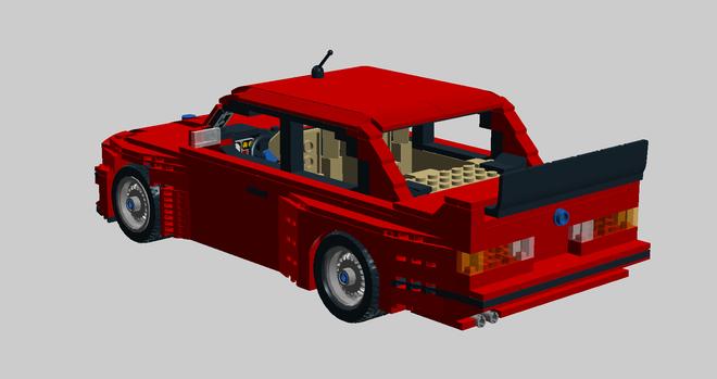 Lego E30 M3 rear