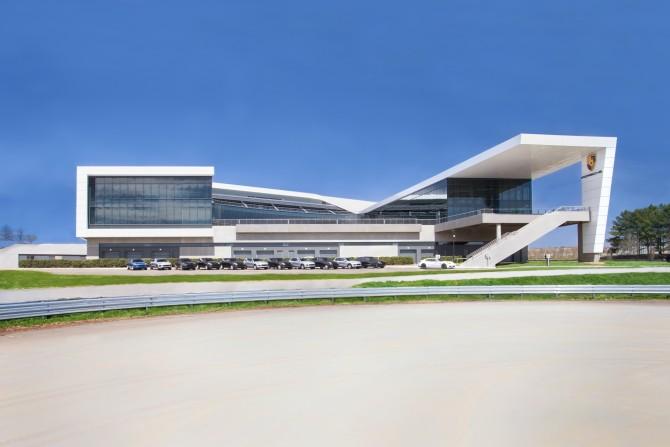 PORSCHE OPENS NEW $100 MILLION EXPERIENCE CENTER / HEADQUARTERS IN ATLANTA