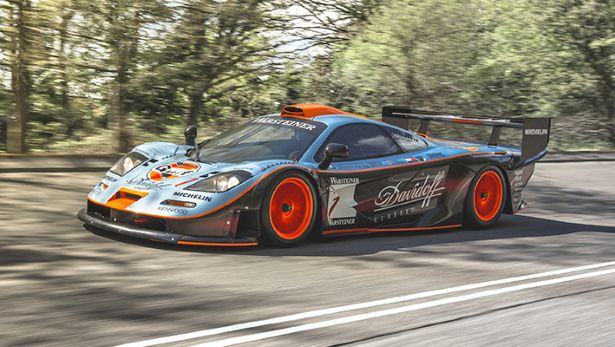 The Top Gear McLaren F1 is for sale