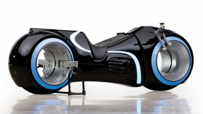 Real Working TRON Lightcycle sold at Auction