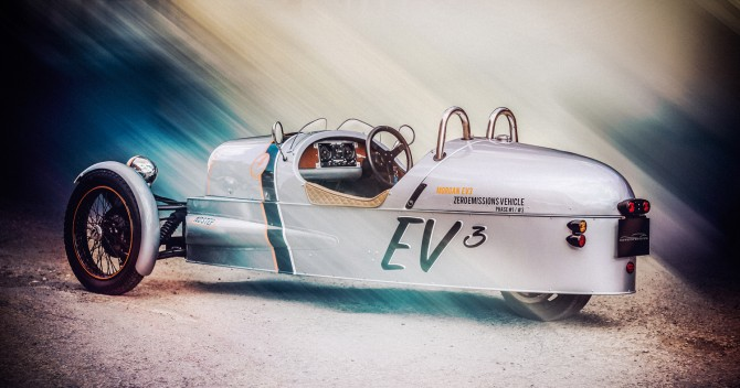 Morgan's Electric 3 Wheeler