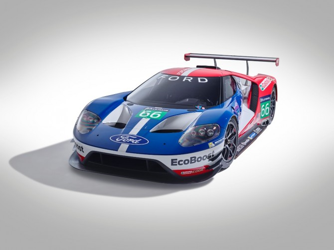 FORD RETURNING TO LE MANS IN 2016 WITH ALL-NEW FORD GT