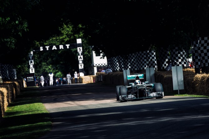 SATURDAY AT THE GOODWOOD FESTIVAL OF SPEED: PICTURE GALLERY