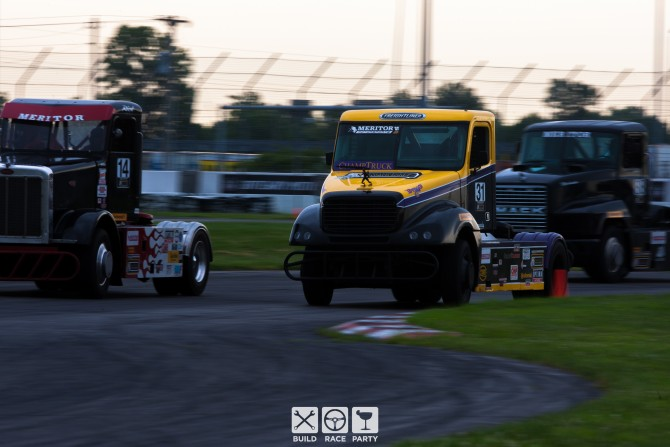 Trucks aren't just for hauling… You can race them too