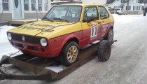 For Sale: Vintage 1976 Volkswagen Golf / Rabbit Rally Car