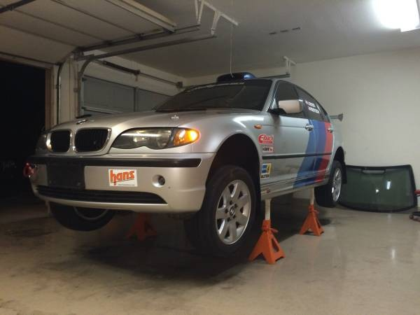 For Sale: 2005 BMW 325xi Rally Car 8