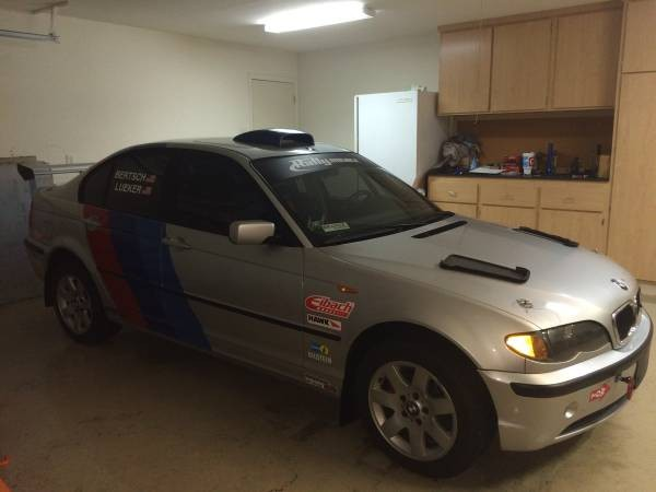 For Sale: 2005 BMW 325xi Rally Car 13