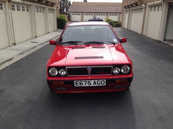 Lancia Delta Integrale front end