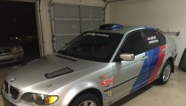 For Sale: 2005 BMW 325xi Rally Car