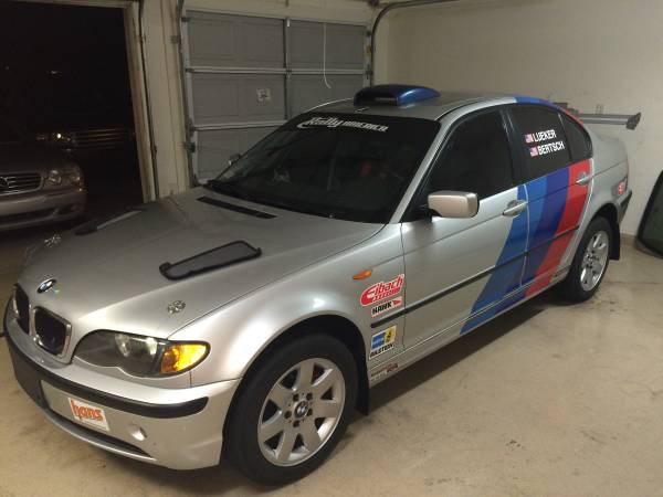 For Sale 2005 BMW 325xi Rally Car  Build Race Party