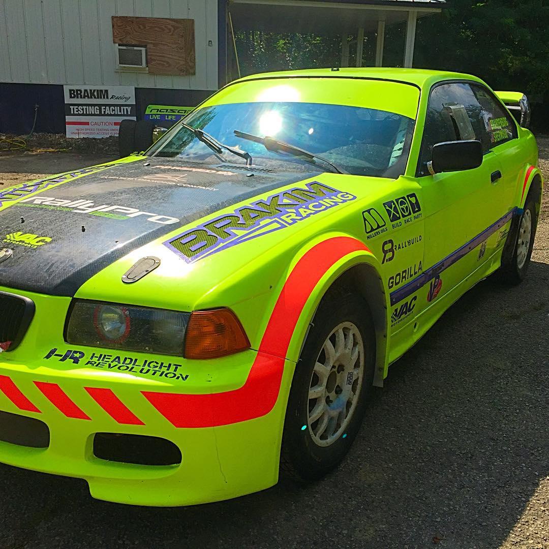 Bmw Rally Car Build