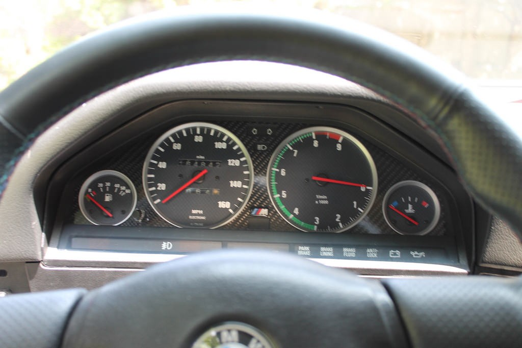 s54 gauges in e30