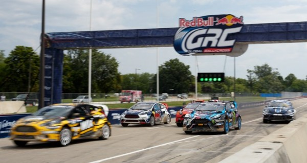 GRC photo cars at the start