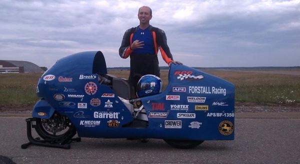 Loring Land Speed racing 5