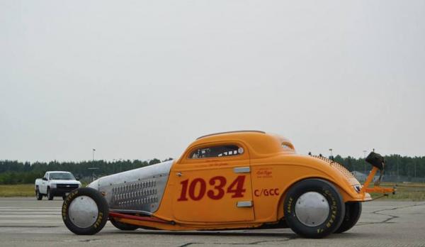 Loring Land Speed racing