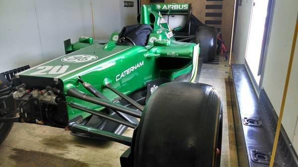 2011 Lotus F1 Car front
