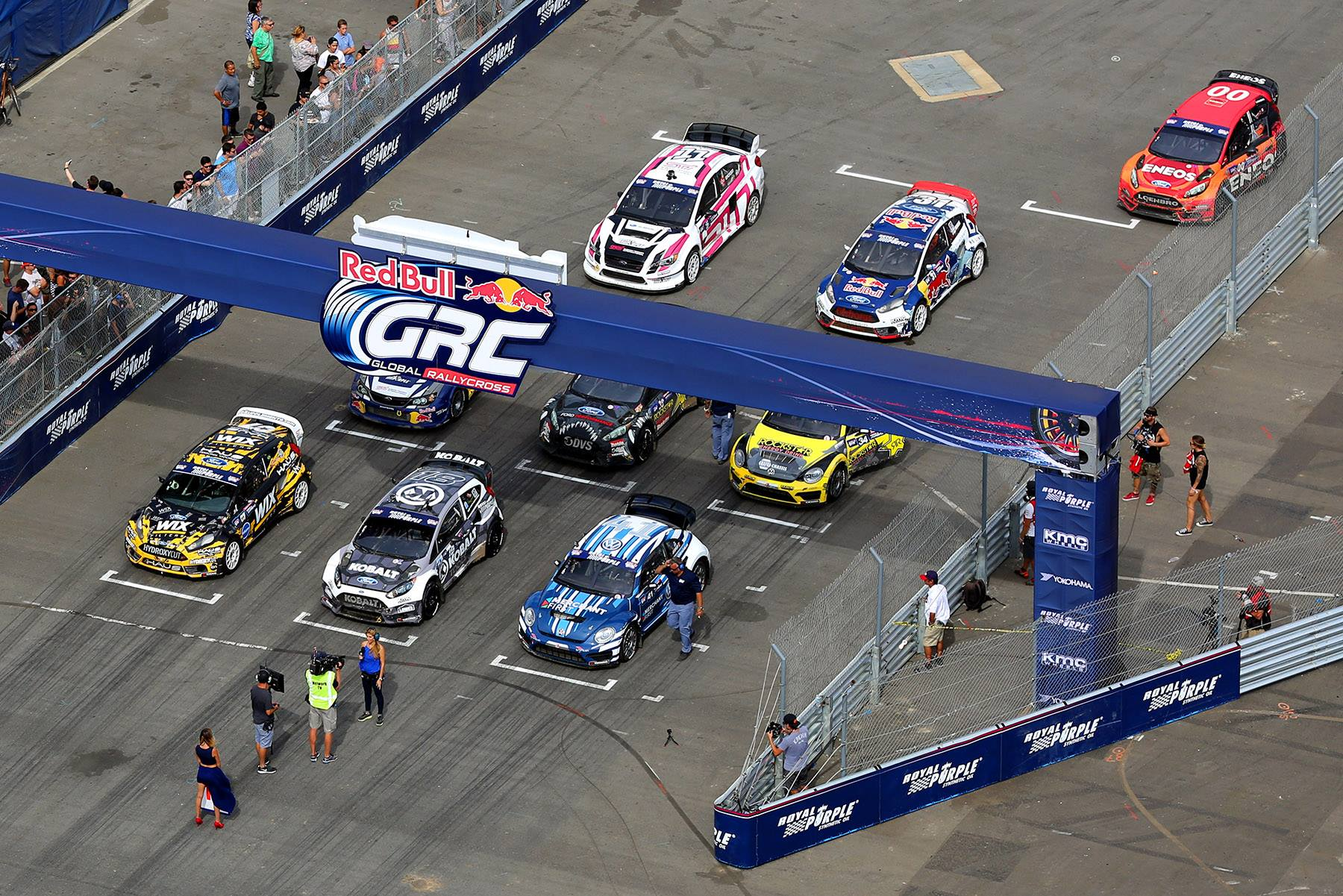 GRC Los angeles starting grid