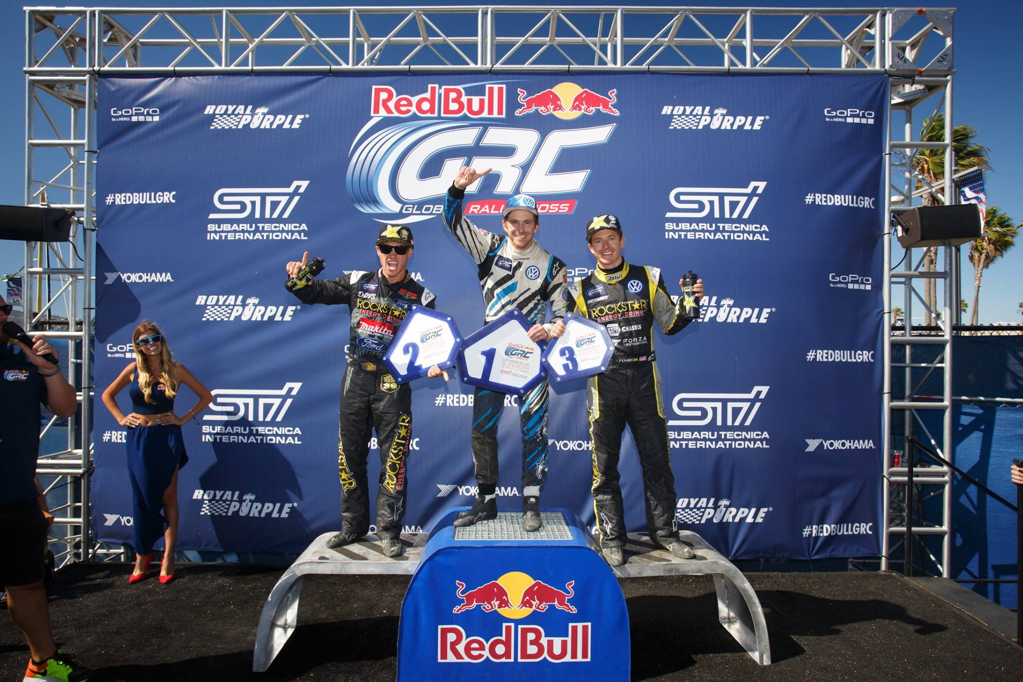 GRC Los angeles sunday podium