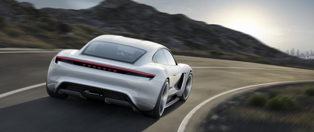 Porsche E Mission 4