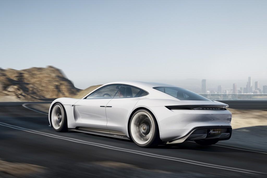 Porsche E Mission 5