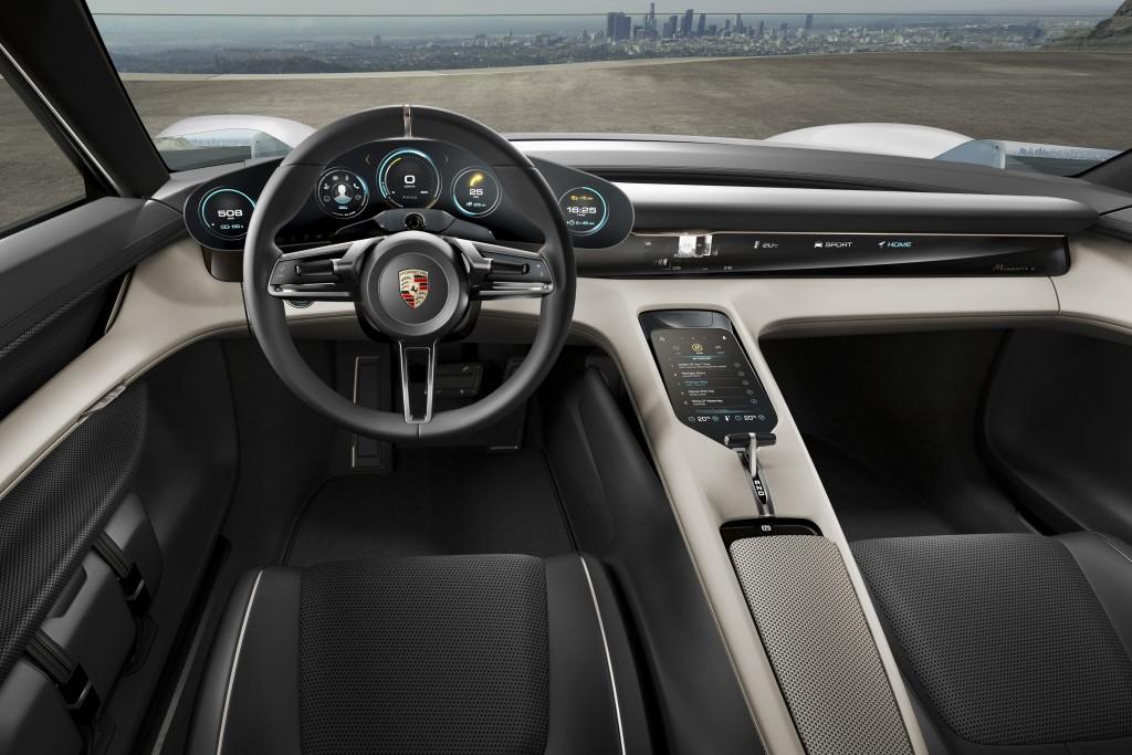 Porsche E Mission interior