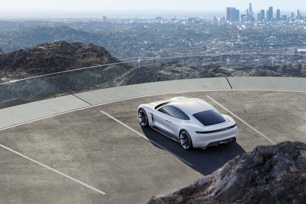 Porsche E Mission top view