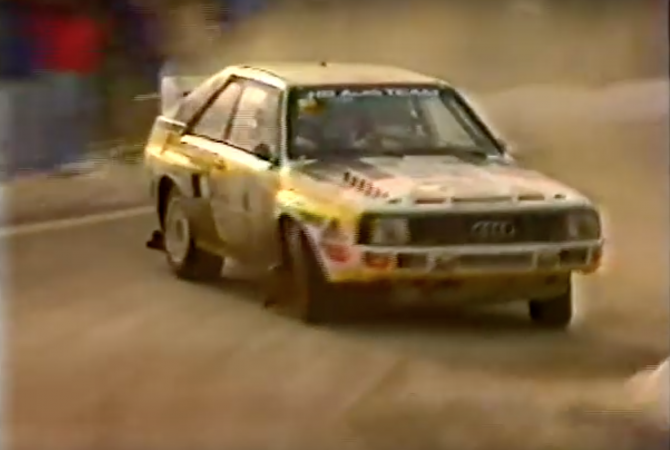 Group B At The Monte Carlo Rally