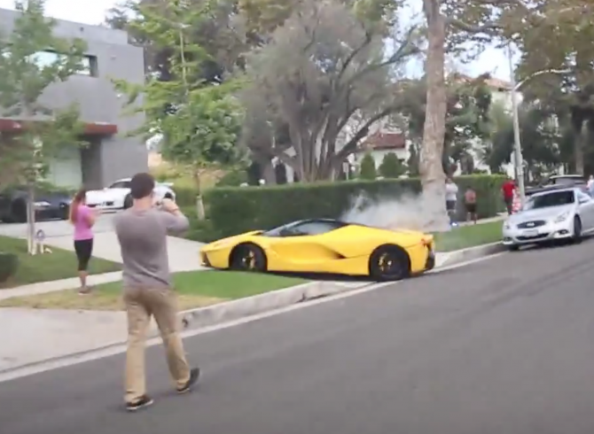 UPDATE 1: Too Rich For Racetracks? La Ferrari Rips Up Beverly Hills
