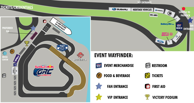 red bull grc los angeles track map