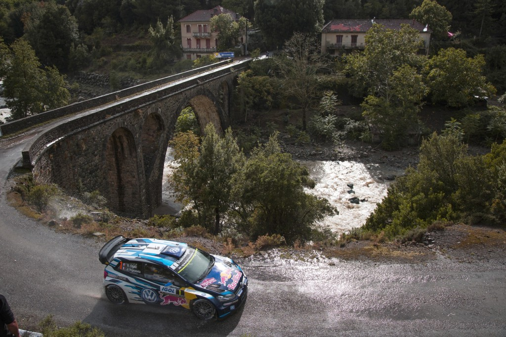Sébastien Ogier (F), Julien Ingrassia (F) Volkswagen Polo R WRC (2015) WRC Rally France - Corsica 2015