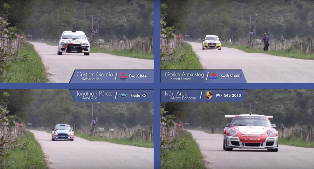 WRC Speed Comparison