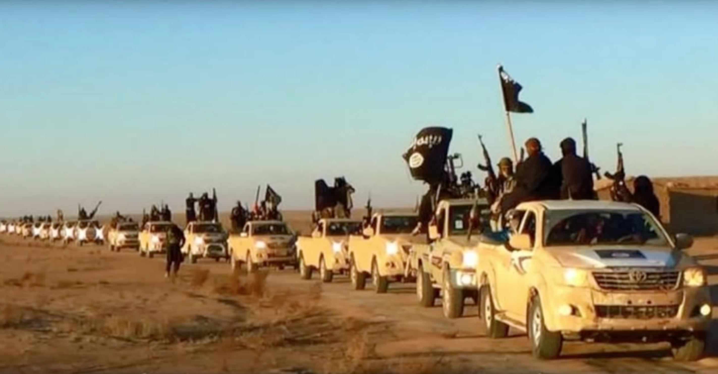 Isis Toyota Hilux