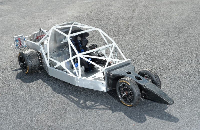 delta wing race car chassis