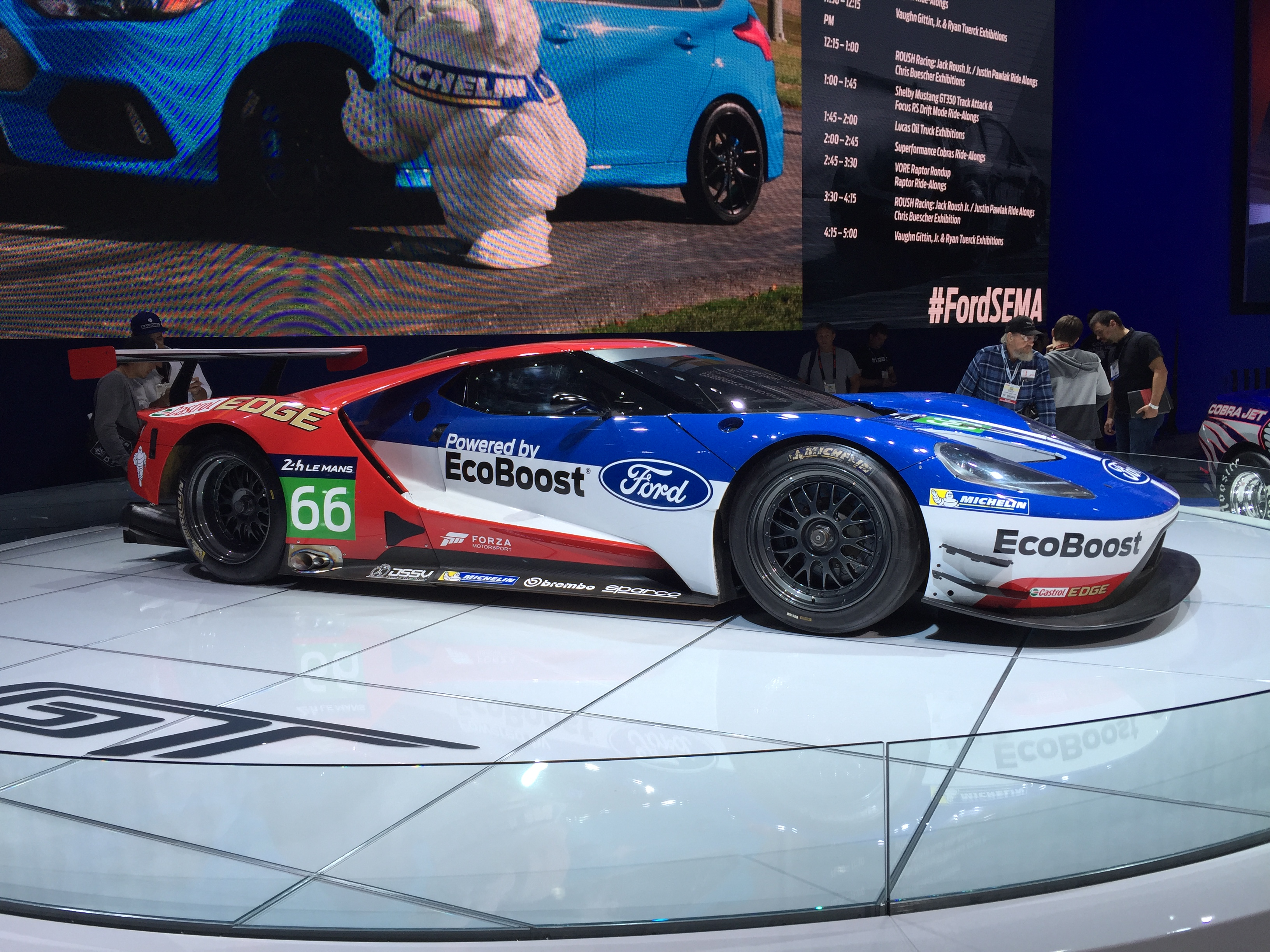 Ford Gt Lemans Car Sema Pictures